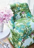 Thibaut Central Park Fabric in Spa Blue